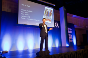 Sam Waterfall marketing expert, speaks to O2 on UK & Ireland tour