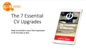 Sam Waterfall presents The 7 Essential CV Upgrades