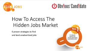 Sam Waterfall speaks on How to Access the Hidden Jobs Market