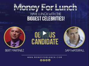 Sam Waterfall from Obvious Candidate on Radio Interview on Money For Lunch BlogTalk Radio